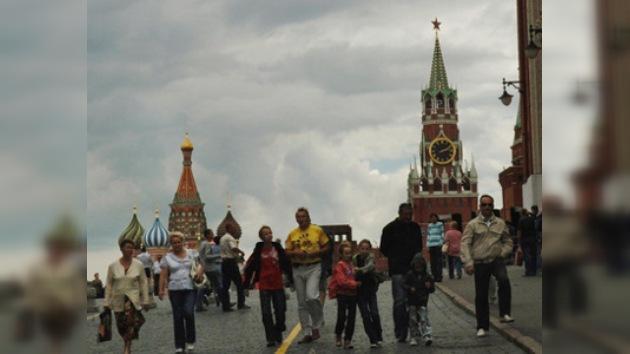 Crece el flujo de turistas extranjeros en Moscú