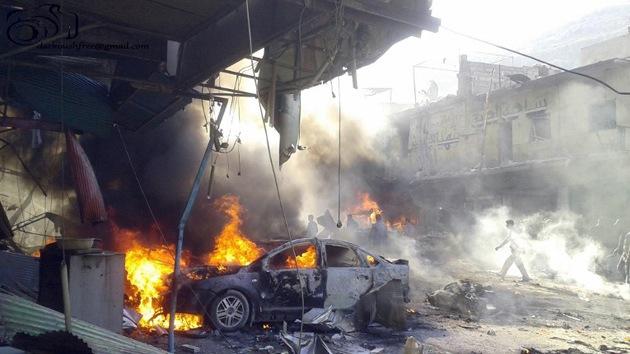 Al menos 27 muertos al explotar un coche bomba en el noreste de Siria