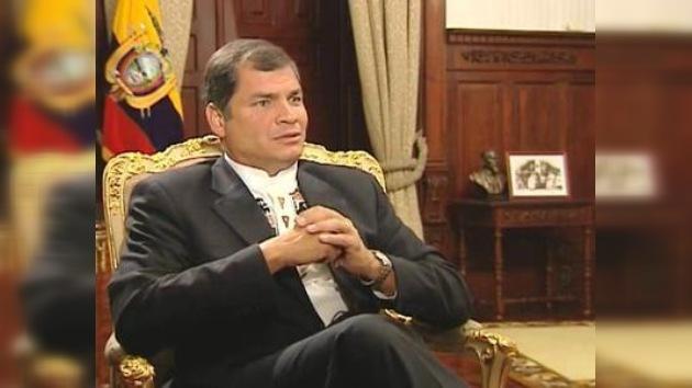 """Correa: """"En 2013 habrá una victoria contundente de la Revolución Ciudadana"""""""