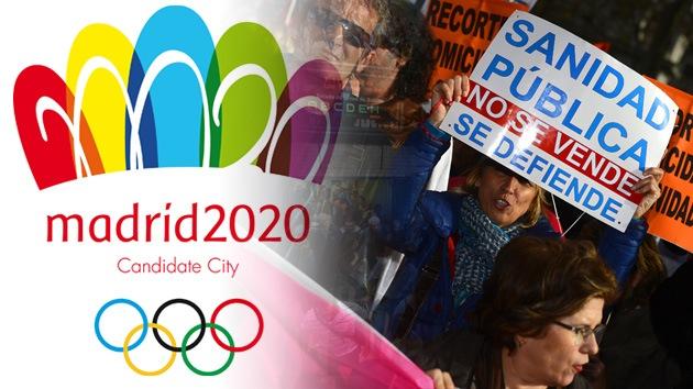 """Madrid 2020 """"es un proyecto empresarial"""" que acabará como 'Los Juegos del Hambre'"""