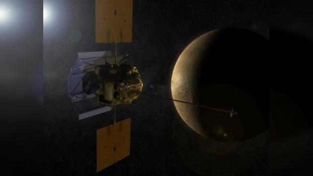 Una sonda entrará por primera vez en la órbita de Mercurio