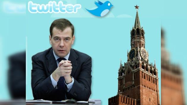 El presidente ruso tendrá su propia cuenta en Twitter
