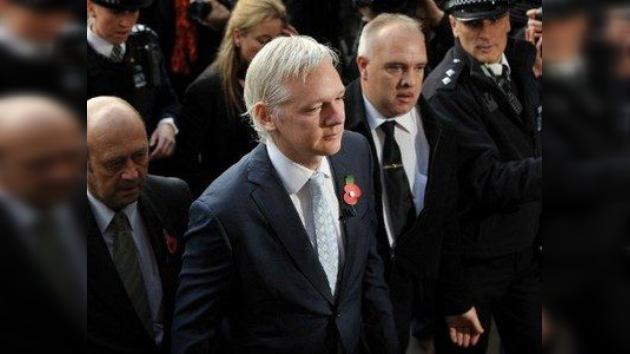 Assange apela su extradición a Suecia