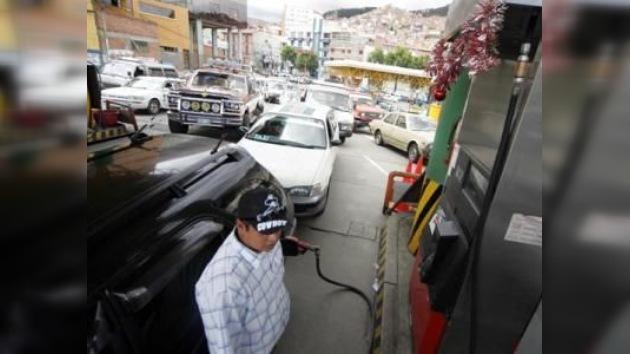 Suben los costes del combustible y la tensión social en La Paz