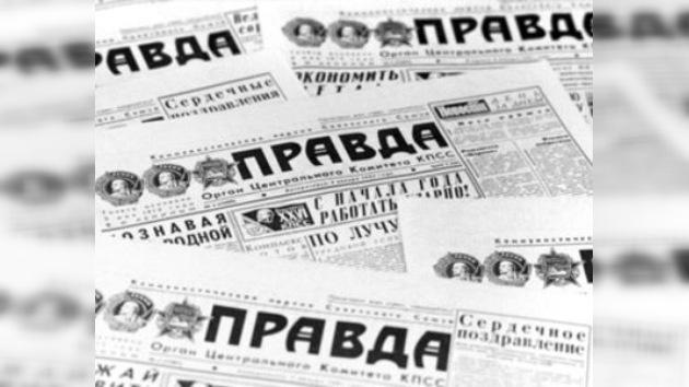 Presentan el archivo electrónico del centenario periódico ruso Pravda