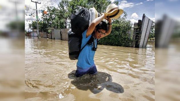 Fuertes lluvias azotan el estado de México