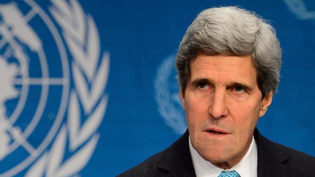 John Kerry no descarta enviar fuerzas pacificadoras a Siria