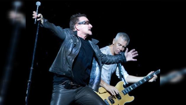 Moscú vibra con los '360 grados' de rock de U2