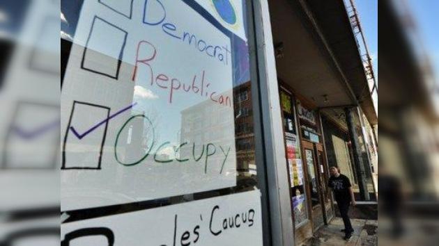 Arrestan a activistas de 'Ocupa Wall Street' cerca de una sede de campaña electoral