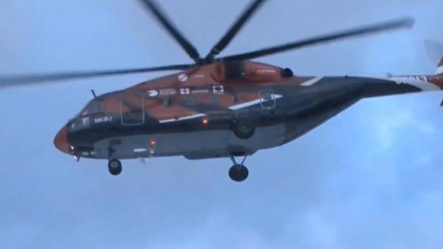 Video: vuelo de prueba del tercer prototipo del novedoso helicóptero ruso Mi-38