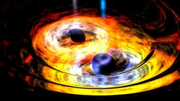 Captan una 'danza' entre dos agujeros negros supermasivos: ¿Fusión a la vista?