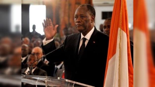 Ouattara presta juramento como jefe de Estado y pone fin al conflicto en Costa de Marfil