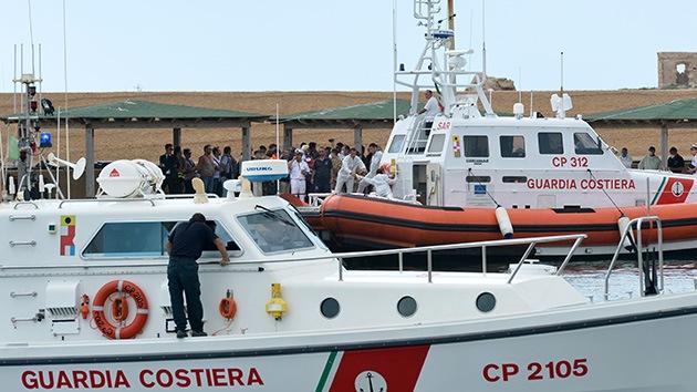 Italia: Rebajan a 34 el número de muertos al naufragar una barcaza cerca de Sicilia