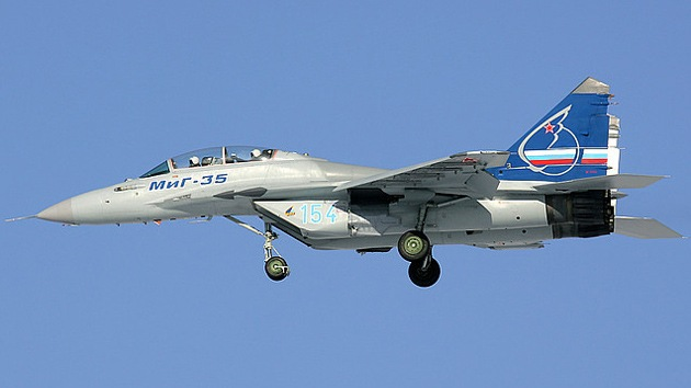La Fuerza Aérea rusa adquirirá cazabombarderos MiG-35