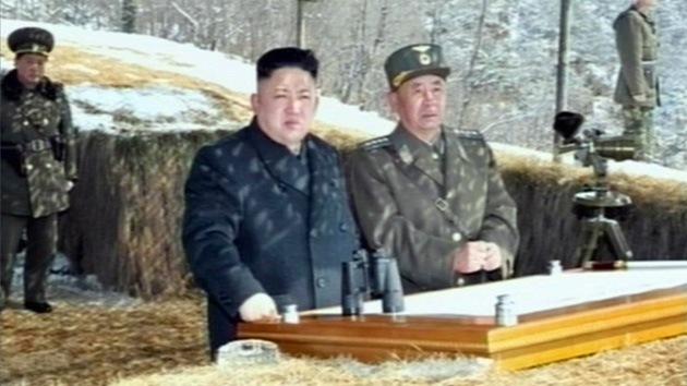 El líder norcoreano supervisó un ataque contra objetivos simulados de Corea del Sur