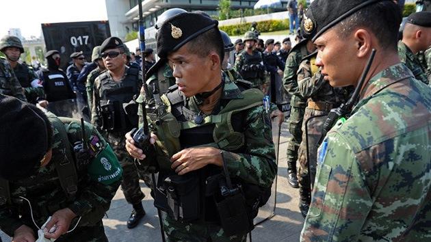 El Ejército tailandés introduce la ley marcial