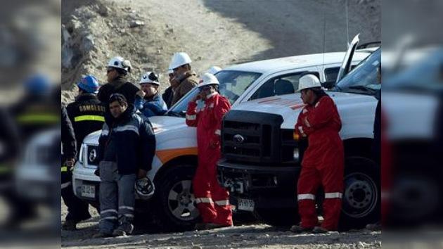 Un nuevo derrumbe en la mina San Esteban impidió las labores de rescate