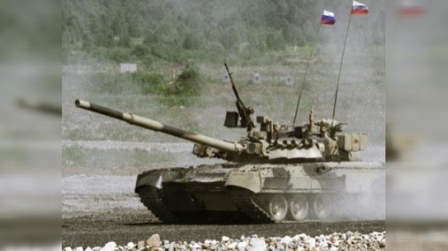 Un fallo al disparar un tanque mata a dos oficiales rusos