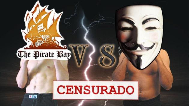 Duelo de titanes: The Pirate Bay carga contra Anonymous