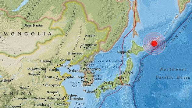 Se registra un terremoto de magnitud 6,6 en las Islas Kuriles
