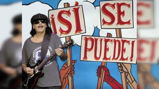 Los artistas cantan a los inmigrantes 'Sí, se puede'