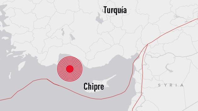 Un sismo de magnitud 5,9 sacude Turquía
