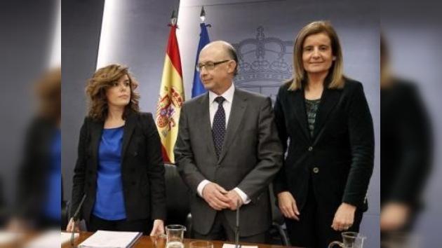 El déficit de España es del 8% y supone el 'inicio del inicio' de los recortes e impuestos
