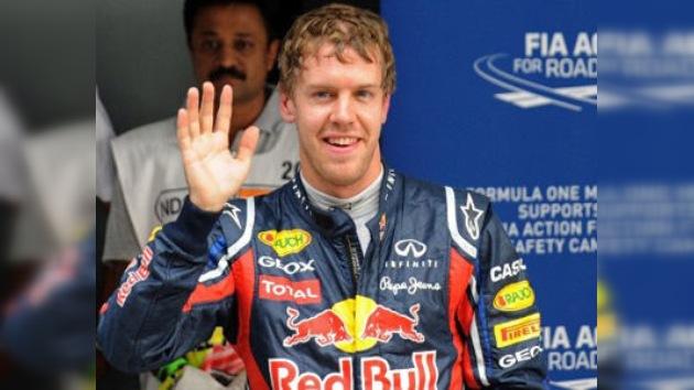 Fórmula 1: Sebastian Vettel consigue la 'pole' en el Gran Premio de la India