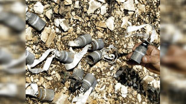 Fuerzas de Gaddafi usan bombas de racimo de fabricación española