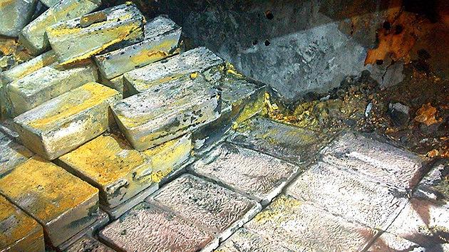 Rescatan el mayor tesoro de plata descubierto en el Atlántico