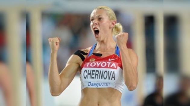 Las rusas se visten de oro en el Mundial de Atletismo