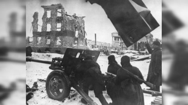 Artistas rusos en el frente de la Gran Guerra Patria