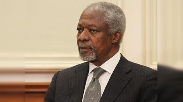 Kofi Annan: son los sirios los que tienen que decidir el destino de Bashar al Assad