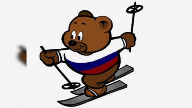 El osito esquiador, la mascota más votada en Rusia para la Olimpiada 2014