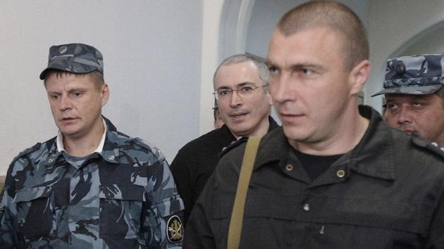 El magnate encarcelado Mijaíl Jodorkovski: ¿libre en 2012?