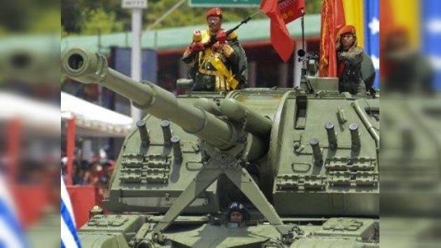 Venezuela se rearma con tanques rusos, aviones chinos y buques españoles