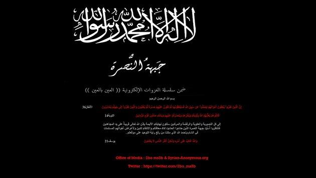'Hackers' de la oposición siria atacan el sitio web de RT en árabe