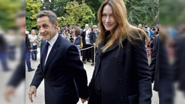Nace la primera hija de Carla Bruni y Nicolas Sarkozy