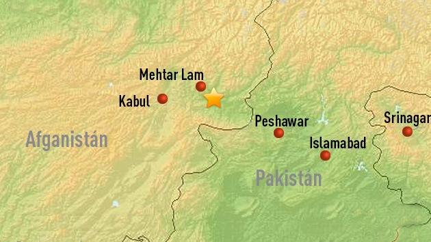 Un sismo de 5,6 de magnitud sacude Afganistán y Pakistán