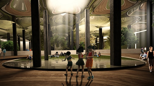 Imágenes: El primer parque subterráneo del mundo 'florecerá' bajo Manhattan