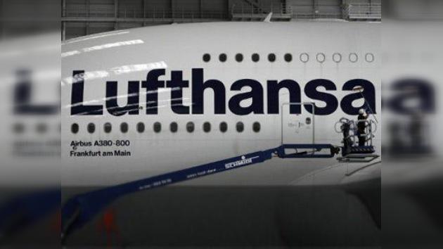 Decenas de vuelos cancelados por la huelga en el aeropuerto de Fráncfort
