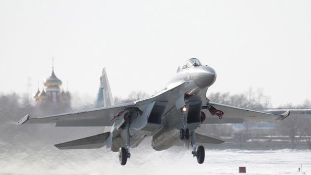 Los primeros cazas furtivos Su-35 se incorporarán a la Fuerza Aérea rusa este mes
