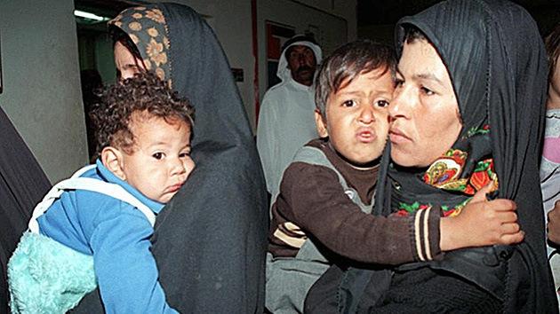 """Municiones de EE.UU. y el Reino Unido """"causan defectos de nacimiento en Irak"""""""
