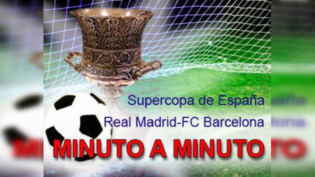 Minuto a minuto: el primer 'clásico' de la Supercopa, FC Barcelona - Real Madrid