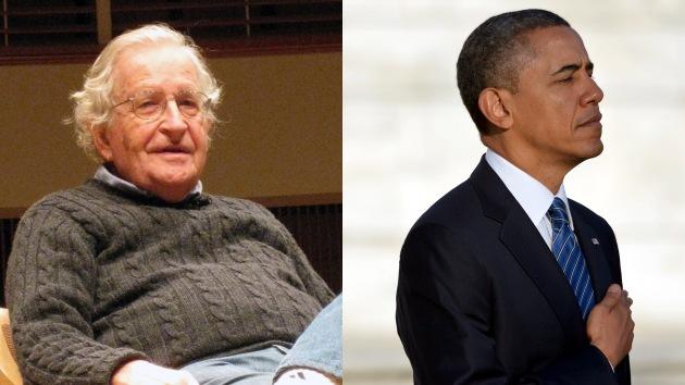 """Noam Chomsky: """"Hace décadas Obama habría sido un republicano moderado"""""""