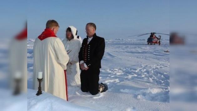 La boda más romántica del año… en el Ártico