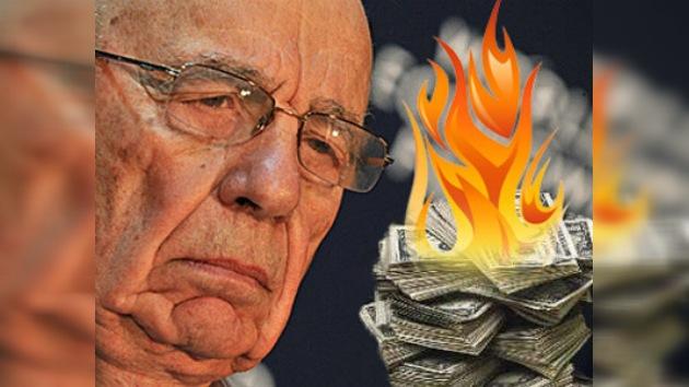 Rupert Murdoch, cada vez más 'pobre'