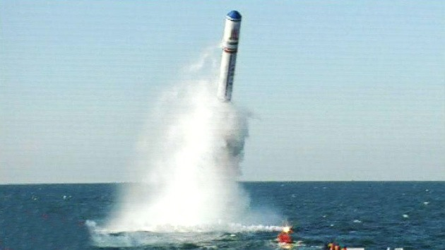 China lanza un misil intercontinental desde un submarino