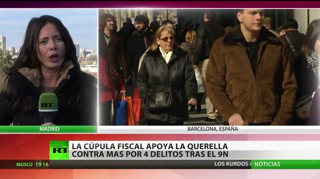 La cúpula fiscal de España apoya la querella contra Artur Mas por el 9-N
