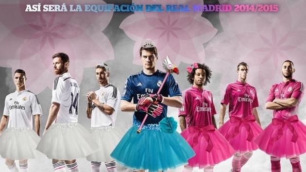Los memes más sarcásticos por la camiseta rosa del Real Madrid